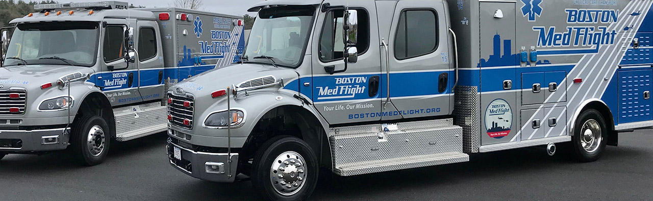 Critical Care Transport By Icu Level Mobile Medical Vehicles Boston New England